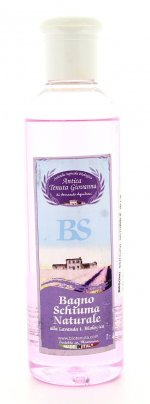 Bagno Schiuma Naturale alla Lavanda Bio 250 ml