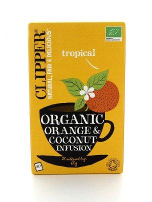 Clipper - Orange & Coconut - Arancia e Cocco