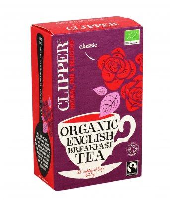 Clipper - Te' Nero Bio - English Breakfast
