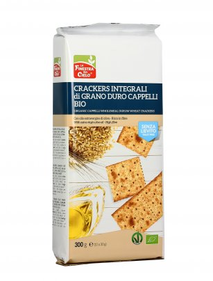 Crackers Integrali di Grano Duro Cappelli senza Lievito