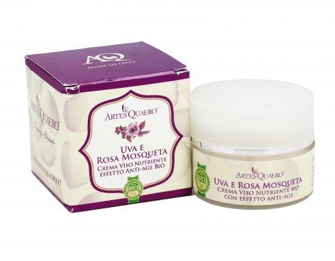 Crema Viso - Uva e Rosa Mosqueta - 50 ml.