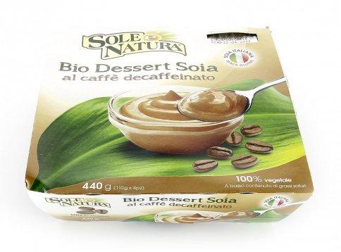 Dessert di Soia al Caffè Decaffeinato