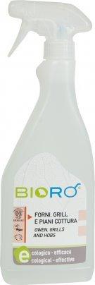 Biorò - Detergente per Forni, Grill e Piani Cottura