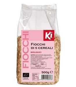 Fiocchi di 5 Cereali Biologici
