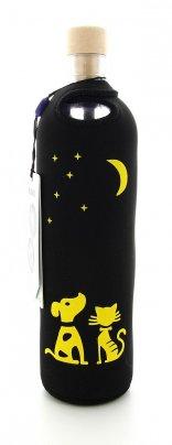 Bottiglia Vetro Programmato Flaska - Neo Design Moonlight 0,5 L