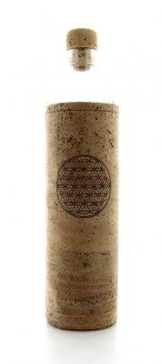 Bottiglia Vetro Programmato Flaska - Spiritual Flower Of Life