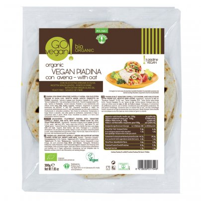 Go Vegan - Piadina di Frumento con Avena