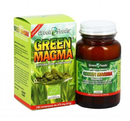 Green Magma - 136 Compresse