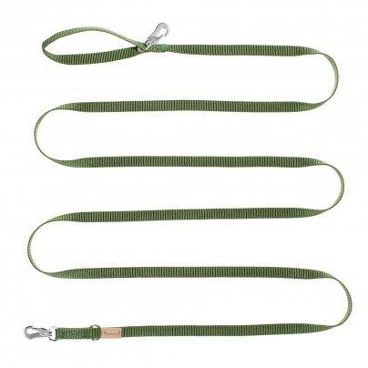 Guinzaglio Verde 3 Metri x 15 mm.
