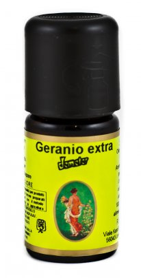 Olio Essenziale Geranio Extra Demeter - 5 ml.