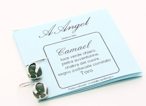 Orecchini Camael - Avventurina