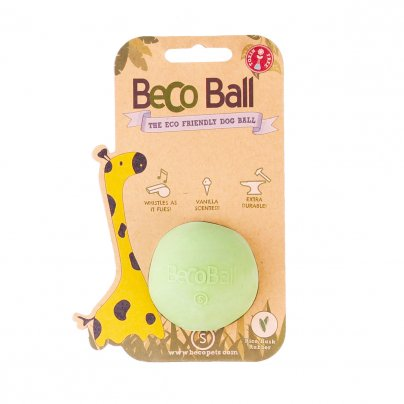 Palla Beco Ball per Cani - Diversi Colori S- Piccola - Verde