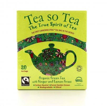 Tea So Tea - Té Verde con Zenzero e Citronella Bio
