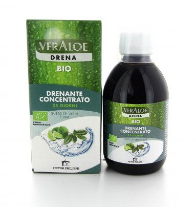 VerAloe - Drena Concentrato - Tè Verde e Lime