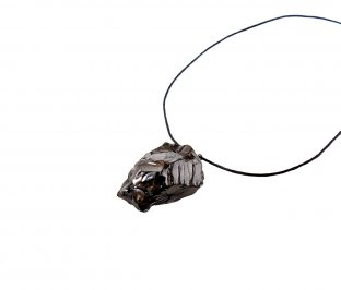 Pendente in Shungite Elite con Cordino - Big Size
