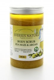 Body Scrub Zea Mais e Argan