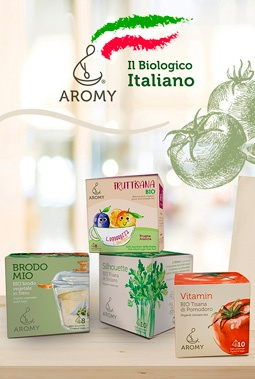 Bevande biologiche e italiane aromy