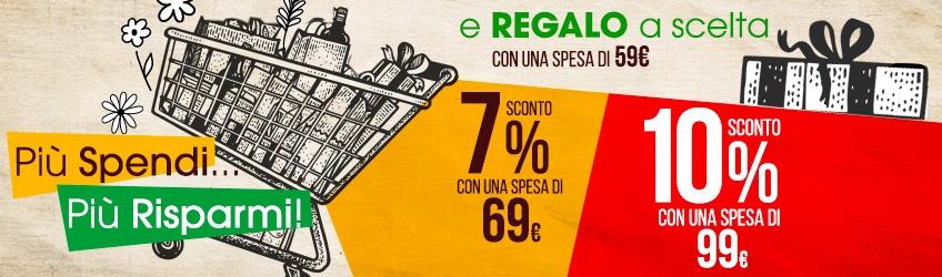 Più Spendi...Più Risparmi + Regalo