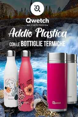 qwetch bottiglie termiche ecologiche
