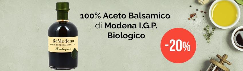 Promo Aceto Balsamico di Modena I.G.P. - Re Modena