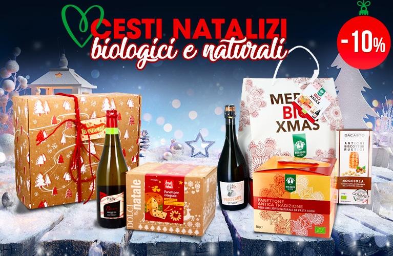 cesti natalizi biologici
