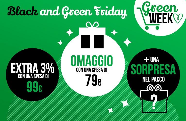 black and green week
