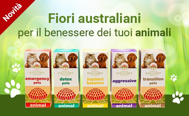 Fiori australiani per il benessere dei tuoi animali