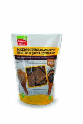Snack Mini Crispbread Amaranto e Semi di Chia