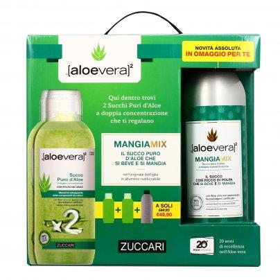 Succo Puro d'Aloe 3 Bottiglie (Formato Convenienza)