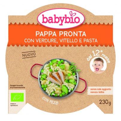 Pappa Pronta con Verdure, Vitello e Pasta