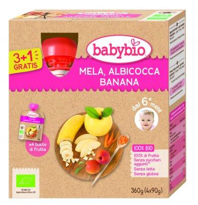 Purea di Frutta - Mela, Albicocca e Banana