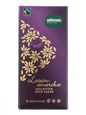 Tavoletta di Cioccolato Cacao 100% Amaro - Latein Amerika