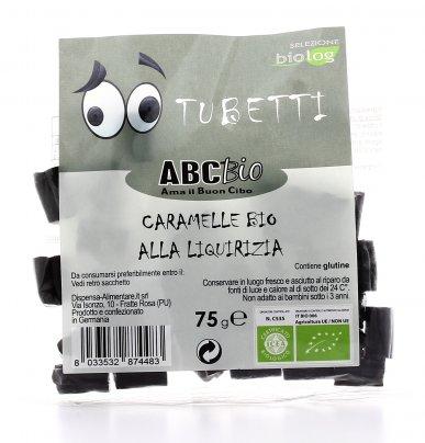 Tubetti - Caramelle Bio alla Liquirizia Bio