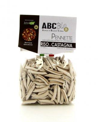 Specialità Pasta Bio - Pennette di Riso e Castagna