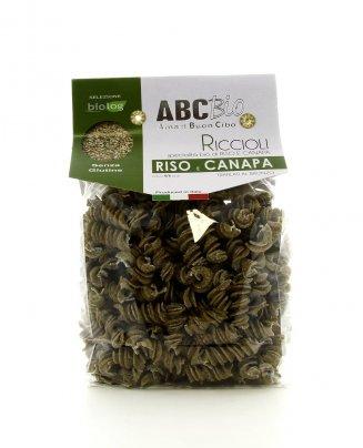 Specialità Pasta Bio - Riccioli di Riso e Canapa