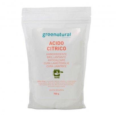 Acido Citrico 750 gr. Busta Ricarica
