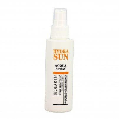 """Acqua Spray Viso con Aloe e Acido Ialuronico """"Hydra Sun"""""""