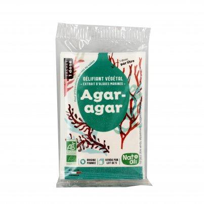 Agar Agar - Gelificante da Alghe Marine Bio 5x 4g (bustine)