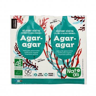 Agar Agar - Gelificante da Alghe Marine Bio 2x4 g (bustine