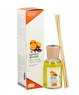 Essenza Agrumi Speziati per l'Ambiente Bastoncini aromatici 250 ml.