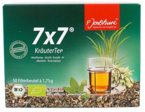7x7 Alca Tè Bio (KrauterTee) 50 Bustine da 1,75 gr.