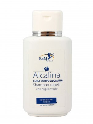 Shampoo Capelli con Argilla Verde - Alcalina