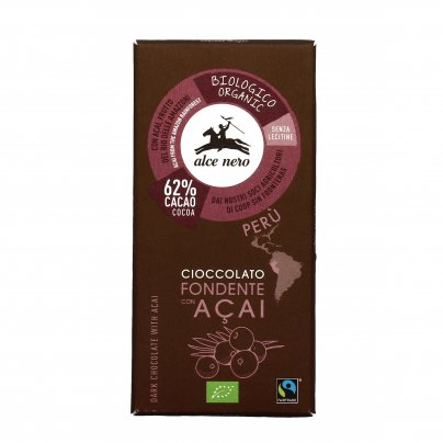 Cioccolato Fondente Con Acai Bio