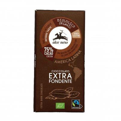 Cioccolato Extra Fondente al 75% Bio