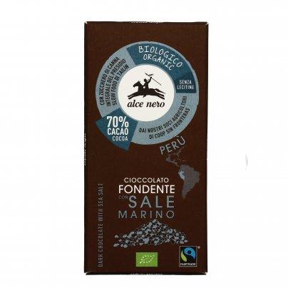 Cioccolato Fondente con Sale Marino
