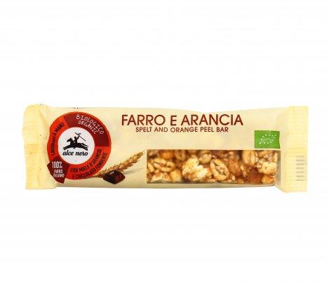 Barretta al Farro e Arancia con Miele d'Arancio e Coccolato Fondente
