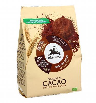 Biscotti Frollini di Frumento al Cacao Bio