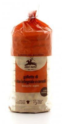 Gallette di Riso Integrale e Cereali Bio