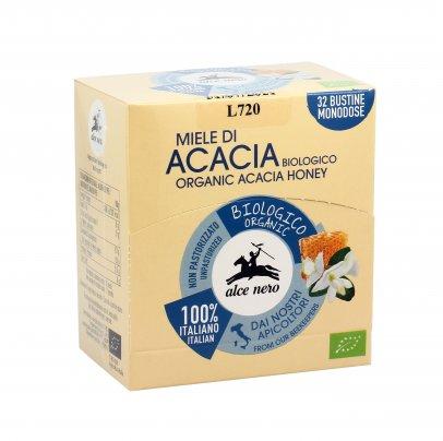 Miele di Acacia Biologico 32 Bustine da 6 Grammi