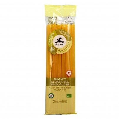 Spaghetti di Mais e Riso Bio - Pasta Senza Glutine